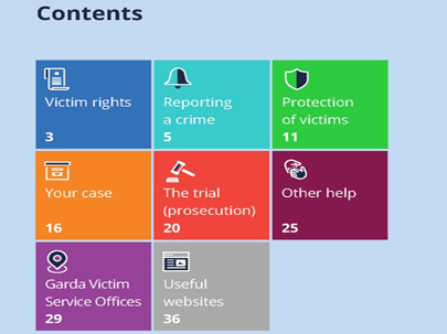 Victim Services landing page middle box