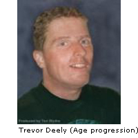 Missing person Trevor Deely (including age progesssion)