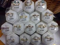 Sample of jewellery items stolen
