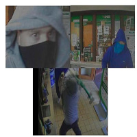 CCTV - attempted robbery at a post office in Knocklyon on the 20/5/11