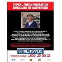 Crimestoppers - Paddy Barry