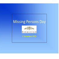 Missing Persons Day - 2/12/15