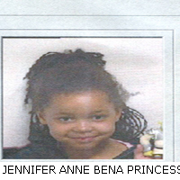 JENNIFER ANNE BENA PRINCESS