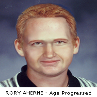 RORY AHERNE - Age progressed