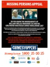 William Maughan and Anna Varslavane Crimestoppers