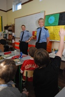 Local Gardaí give presentations as part of the Schools Programme